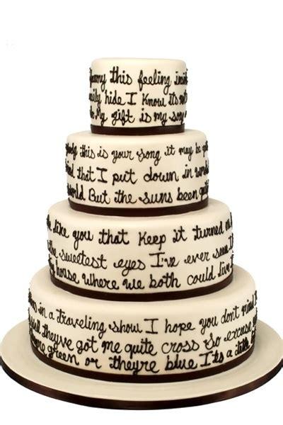 Wedding Song Elton by Your Song Elton Wedding Cake Chelse I Believe