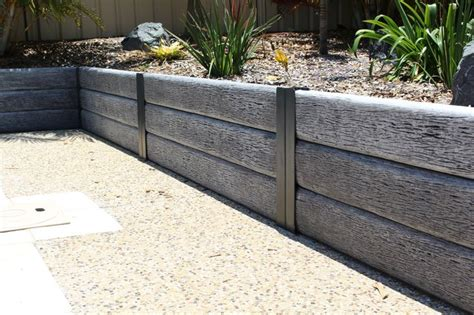 Concrete Sleepers Nsw by 122 Best Images About Retaining Walls On The
