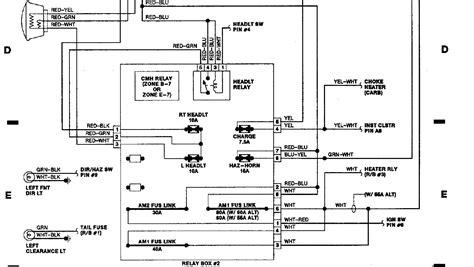 toyota headlight wiring wiring diagrams schematics