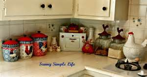 Chicken Decorations Sunny Simple Life Chickens In Kitchen Decor