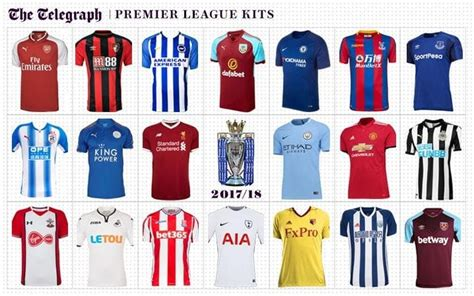 stripe premier league table 2017 premier league kits 2017 18 ranked reviewed football