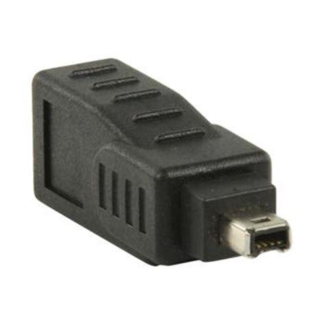 Kabel Usb To Firewire Pin 4 Ieee1394a Transparan firewire adapter 9 pin naar 4 pin firewire verloopstekker type ieee 1394a ieee