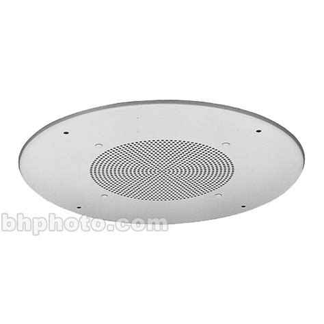 Ceiling Mounted Speaker by Toa Electronics Flush Mount Ceiling Speaker White Pc 671r Y