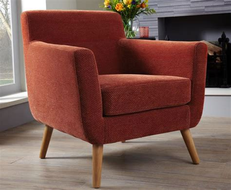 Orange Fabric Chair by Orange Fabric Accent Chair Just Armchairs