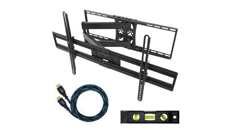 staffa da parete a braccio articolato per tv e monitor da