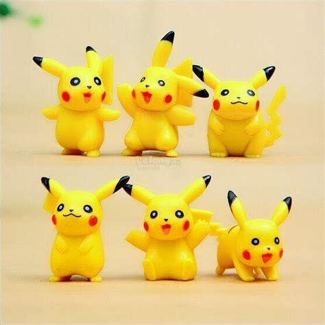Set 3 In 1 Pikachu by Figurine 6 In 1 Set Pikach End 12 24 2017 4 38 Pm