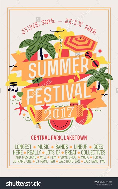 poster design notes 34 best images about summer graphic design on pinterest