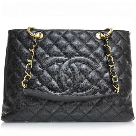 Chanel Gst Caviar Ghw 5266 chanel caviar grand shopping tote gst black ghw 24228