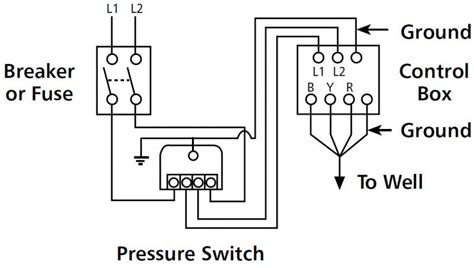 well pressure switch diagram wiring diagram with description