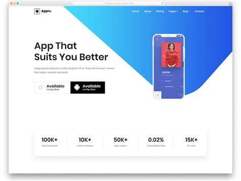 33 Best Free Bootstrap Landing Page Templates With Modern Design 2019 Best Bootstrap Landing Page Templates