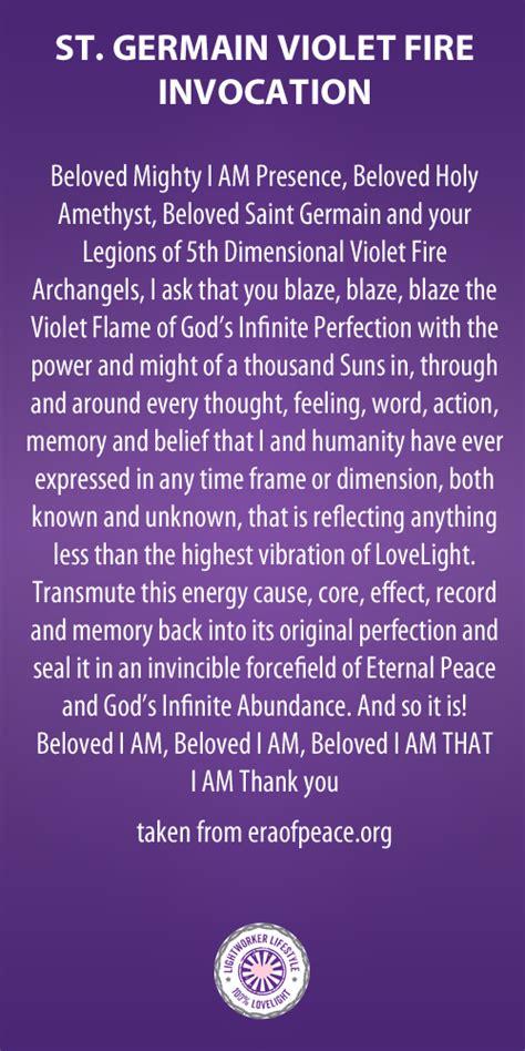invocation violet flame soul healing reiki learn reiki