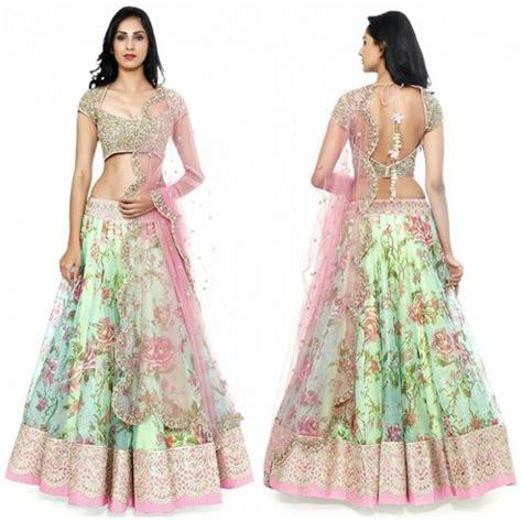 Anarkali Baju India 92 Resultado De Imagen Para Stylish Ghagra Style Dresses