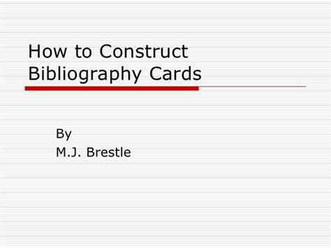 note card template for annotated bibliography bibliography cards
