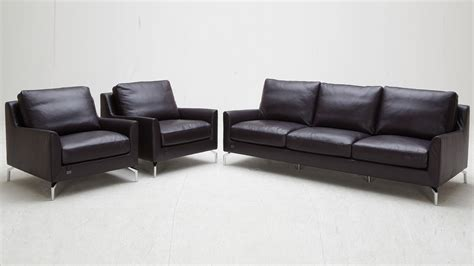 Purple Saxon Leather Sofa Set With Two Chairs Zuri Furniture Saxon Leather Sofas