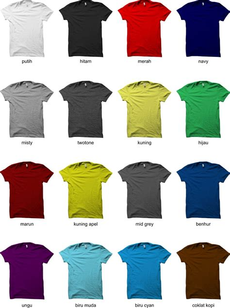 Kaos Polos Cotton Combed 30s Uk Xl grade ori kaos oblong cotton combed 30s sablon uk a3