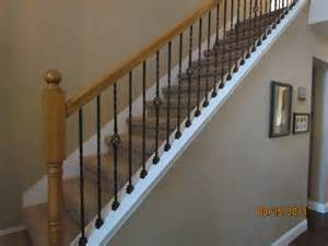 Banister And Baluster High Quality Powder Coated Iron Stair Parts Ironman1821
