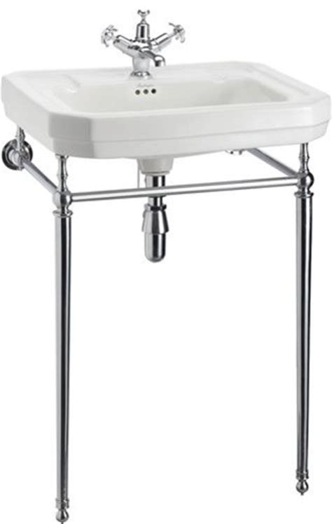 Bathroom Sink Stand by Burlington Large Basin And Chrome Wash Stand