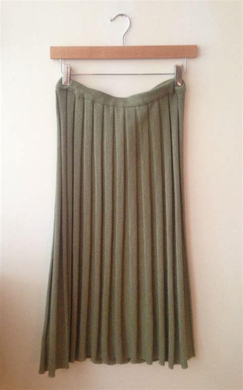 pleated accordion skirt by wohrn on etsy