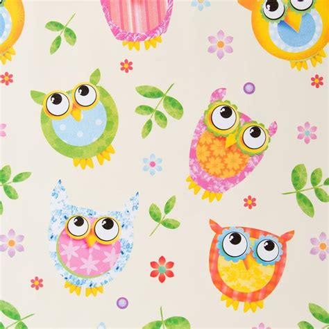 printable paper owl childrens owl printable wrapping paper coloring pages