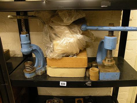 upholstery button press a number 12 upholstered button press by a ornstin