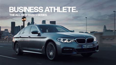 bmw commercial business athlete legacy bmw 5 series sedan tv