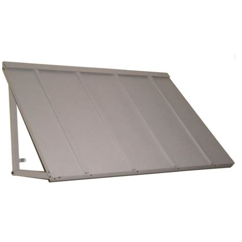 metal awnings home depot beauty mark 8 6 ft houstonian metal standing seam awning