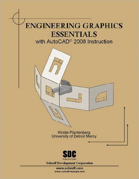 engineering graphics with solidworks 2018 and books engineering graphics essentials with autocad 2008