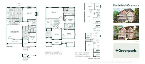 greenpark homes floor plans