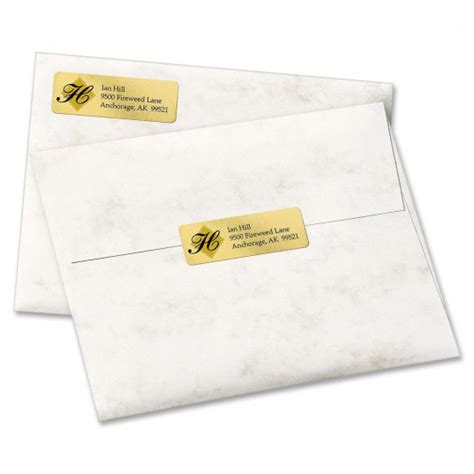 avery 8987 template avery gold foil mailing label ld products