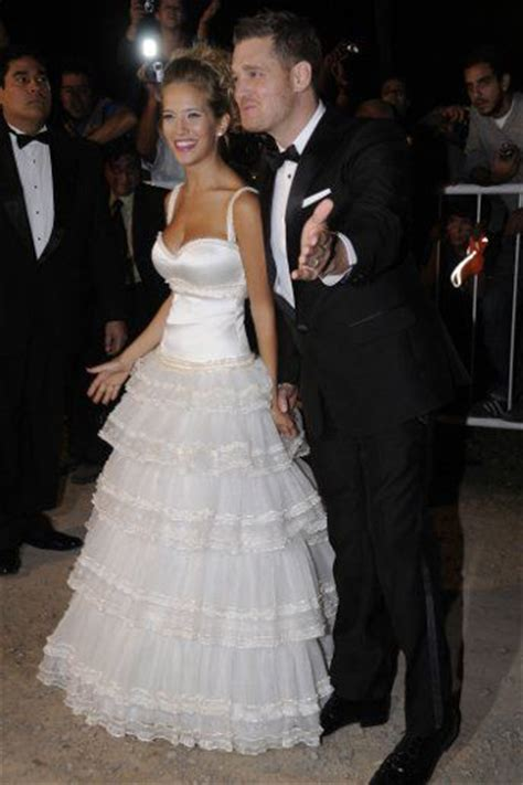 Awesome Couples Who Havent The Knot by Michael Buble And His Model Gf Luisana Lopilato The