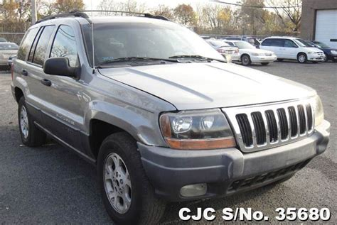 2001 gray jeep grand 2001 left jeep grand gray for sale stock