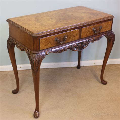 Vintage Hallway Table Antique Walnut Side Table Table Antiques Atlas