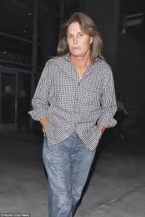 Bruce Jenners New Hair Style | bruce jenner shows off his hairdo at elton john s concert