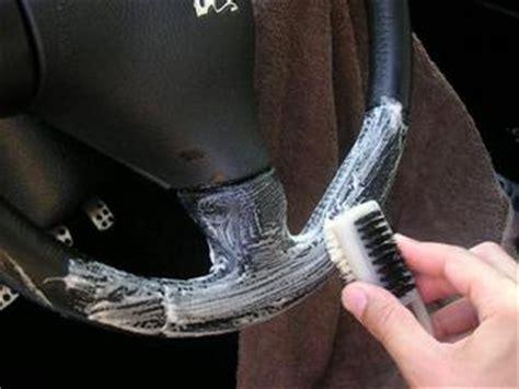 nettoyer si鑒e en cuir voiture comment nettoyer cuir voiture