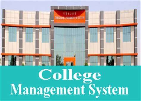 Mba In System Management Colleges by College Management System Project In Vb
