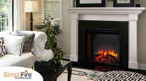 Built In Electric Fireplace Simplifire Built In Electric Fireplace