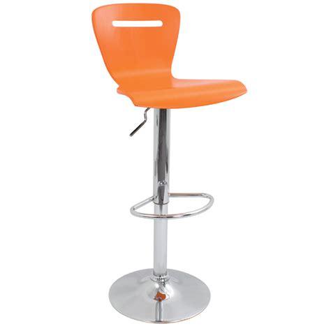 Bs Orange lumisource h2 bar stool orange bs tw h2 o
