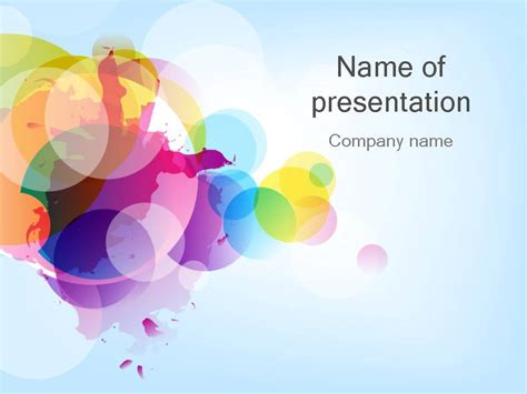 colorful powerpoint template 30 แจก powerpoint template สวยๆ