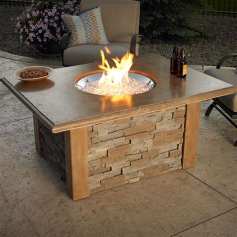 diy gas pit table pit table with burner woodlanddirect outdoor outdoor fireplaces