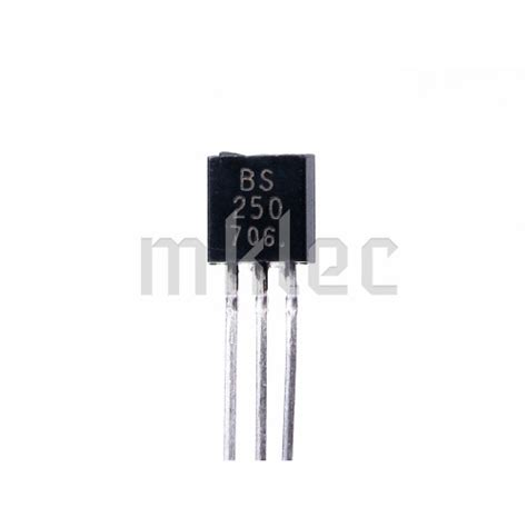 mosfet transistor model bs250 p channel mosfet transistor