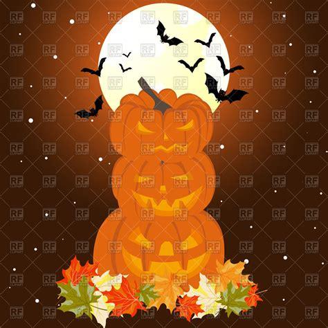 halloween themes vector halloween theme greeting card royalty free vector clip art