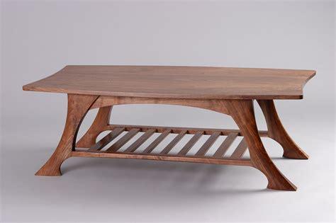 custom wood coffee table casa grande coffee table black walnut solid wood seth