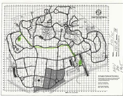 arlington national cemetery map ivan foster