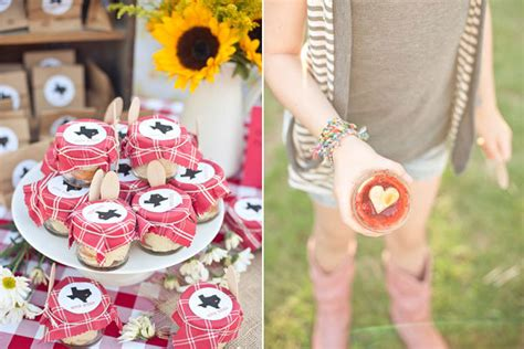 southern themed bridal shower bridalguide - Food Themed Bridal Shower Favors