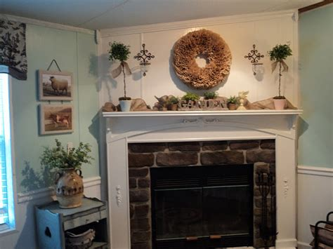 Mobile Home Fireplace by A Spectacular Wide Manufactured Home Makeover