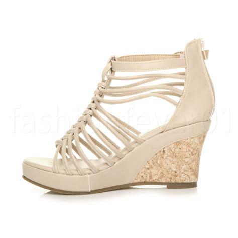 Sandal Wanita Cewek Wedges Simple 30 simple womens gladiator wedge sandals playzoa