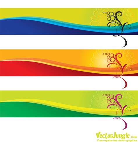 design free online banner 17 vector banner background images free vector banners