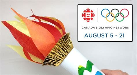 How To Make A Paper Torch - build a light up olympic torch for play cbc parents