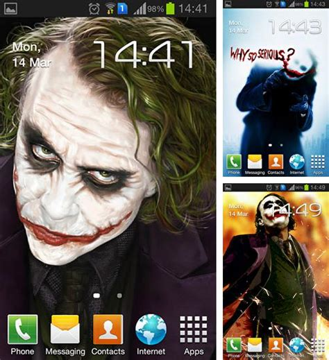 joker themes for android free download android movie live wallpapers free download