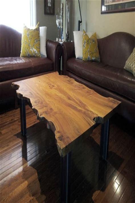 live edge coffee table diy diy live edge coffee table